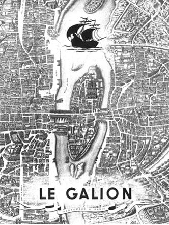 Le Galion - Publicité plan de Paris