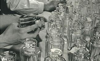 Atelier de conditionnement des Parfums